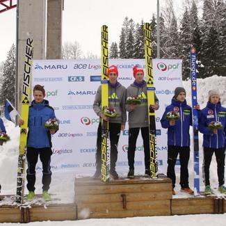 Põhjamaade noorte meistrivõistluste teine võistluspäev tõi eestlastele hõbemedali