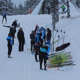 Saariselkä FIS võistlusel klassikadistantside parimad Alba ja Ränkel