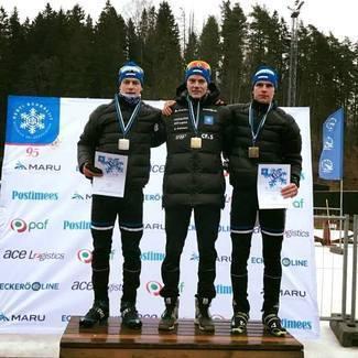 Kahevõistluse Eesti meistrid on Kristjan Ilves ja Triinu Hausenberg