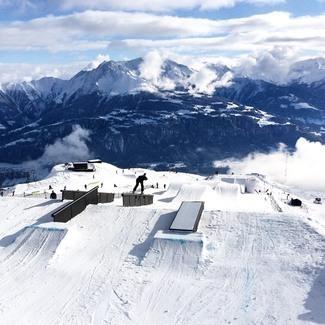 Lumelaudur Siim Aunison teenis Šveitsis toimunud pargisõidu maailmakarika etapil 17,9 punkti
