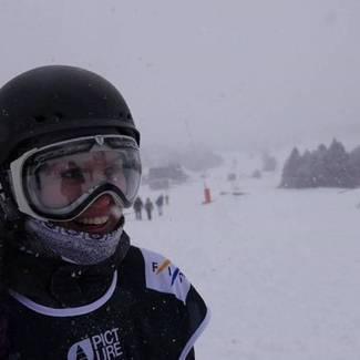 Karoliine Holter kogus elu esimesel FIS MK etapil punkte