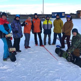 Toimus esimene EKR4 lumelauatreenerite koolitussessioon