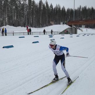 Andreas Veerpalu jäi Soome meistrile alla vaid 55 sekundiga