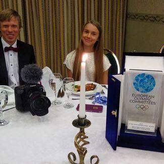 Kelly Sildaru võitis Euroopa parima noore talisportlase auhinna