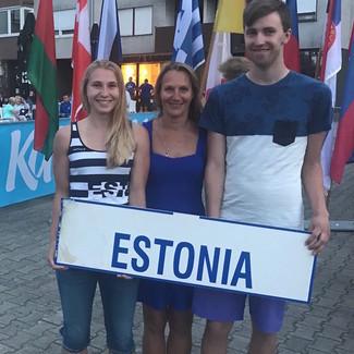 Johanna Treier Horvaatias toimunud MK etapil kuues ja Robert Klen Mõistus kahel korral seitsmes