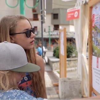 SUMMER FUN IN LES2ALPES / Kelly & Henry Sildaru / Vlog18-17