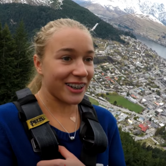 FIRST TIME BUNGEE JUMPING/Kelly & Henry Sildaru / Vlog 26-17