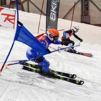 Balti Karika etapil võistlesid erinevatest Eesti mäesuusaklubidest 10 sportlast.