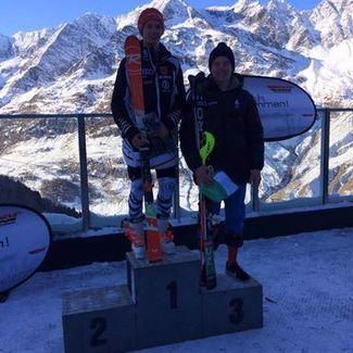 Noor mäesuusataja Tormis Laine näitas Itaalias nädalavahetusel head vormi