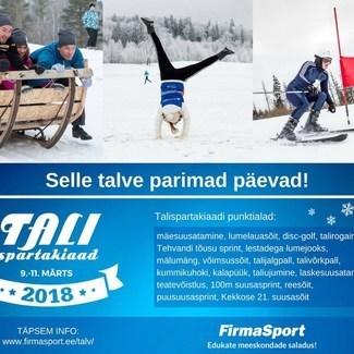 9.-11. märtsini toimub Käärikul ja Otepääl Talispartakiaad