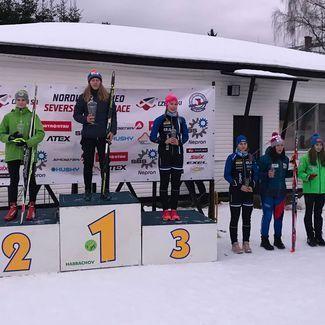 Nädalavahetusel 6 -7 jaanuar toimusid Tšehhis noortele mõeldud FIS'i võistlused kahevõistluses.