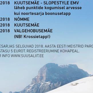 Freestyle noortesarja I etapp Kiviõlis JÄÄB ÄRA!