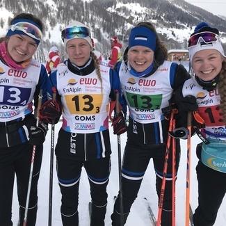 Eesti tüdrukute võistkond Juunioride MM-il 13.