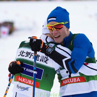 Kahevõistleja Kristjan Ilves jõudis Jaapanis poodiumile