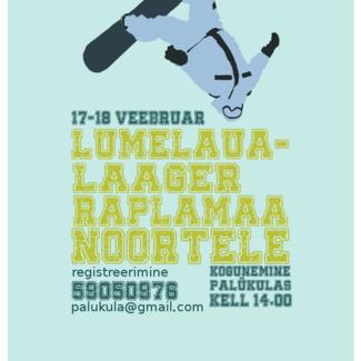 17.-18.02 toimub Palukülas lumelaualaager