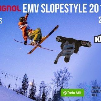 Slopestyle EMV 24.02.2018 Kuutsemäel