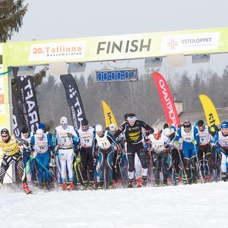 20. Tallinna suusamaratoni võitsid Marko Kilp ja Triin Ojaste