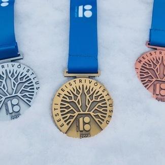 Eesti MV, U23 ja Eesti Noorte MV murdmaasuusatamises Pannjärvel 10-11.03