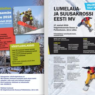 Krossi EMV ja Rodeo Valgehobusemäel 17.-18.03.2018