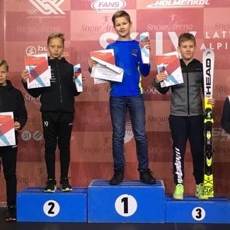 Balti karikavõistlustel Mikk Mesila slaalomis 3.kohal ning paralleelslaalomis Markus Mesila 2.kohal!