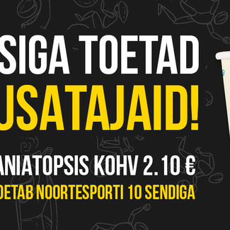Algas Eesti Suusaliidu noortespordi toetuse heategevuskampaania