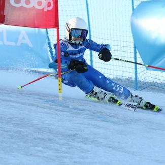 Alexela Alpisarja IV etapp Tuhamäel 16.02.2019