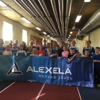 Alexela Noorte Alpisari 2019/2020 alustas uut hooaega Rakvere Spordikeskuses 05.10.2019