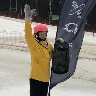 Noored lumelaudurid noppisid Soomes kõrgeid kohti