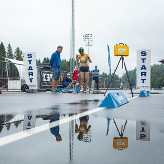 Edukas nädalavahetus FIS rahvusvahelisel rullsuusavõistlustel
