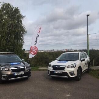 Subaru ja Mariine Auto andsid Eesti Suusaliidule uued keskkonnasõbralikud sõiduvahendid