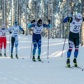 U23 noored pääsesid külma trotsides lõpuks juuriorite maailmameistrivõistlustel klassikasprintide starti!