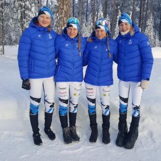 U20 teatevõistluse naiskond juuniorite maailmameistrivõistlustel kõrgel 7. kohal