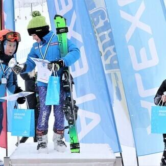 Mäesuusatajad jätkasid Alexela Noorte Alpisarja II etapiga Tuhamäel