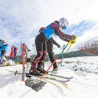 Kütiorus selgusid täna Eesti noorte ja seenioride meistrid mäesuusatamises
