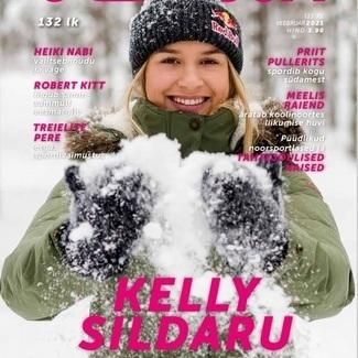 Ajakiri Jooksja aasta esimese numbri kaanestaar on Kelly Sildaru