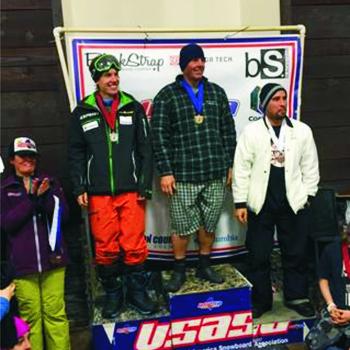 Ivar Kruusenberg võitis Ameerikas lumelauakrossi võistlustel teise koha