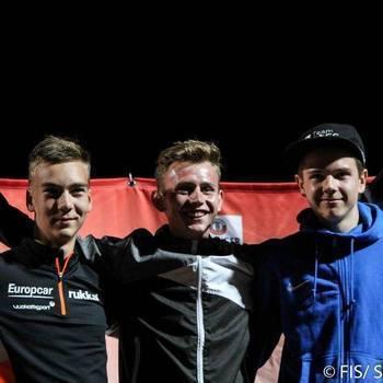 Andreas Ilves jõudis noorte GP etapil kahel korral poodiumile